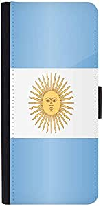Snoogg Argentina Flag 2981 Designer Protective Phone Flip Case Cover For Phicomm Energy 653 4G