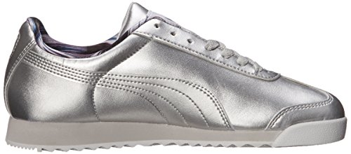 Puma Roma Metallic Sneaker Silver-Glaciar Gray