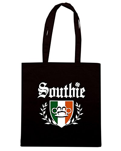 T-Shirtshock - Borsa Shopping TSTEM0208 southie irish boston Nero