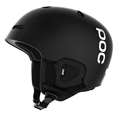 POC Auric Cut Casco, Unisex Adulto, Negro (Matt Black), M-L 55-58