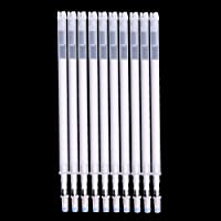 D DOLITY 10 Pieces/lot Heat Erasable Pens Disappearing Refill Pen for Patchwork Cross Stitch Fabric Marking 11cm