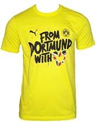 PUMA Kinder T-shirt BVB Kids Winner Tee