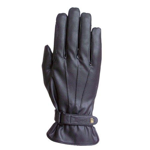 Roeckl Sports Winter Handschuh -Wago- Unisex Reithandschuh, Schwarz, 7,5