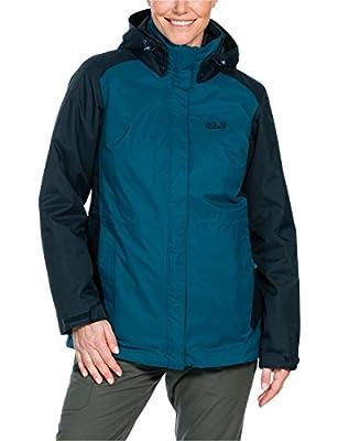 Jack Wolfskin Damen 3-in-1 Jacke Amply Jacket von Jack Wolfskin bei Outdoor Shop