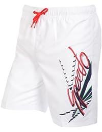 Speedo - Bañador - para niño Blanco blanco Talla:XS