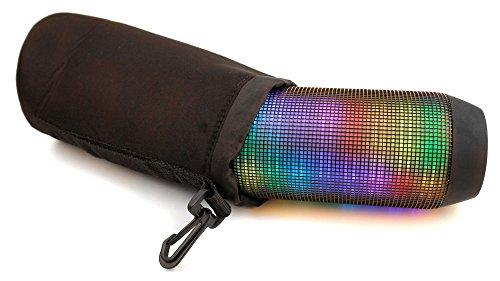Housse étui pochette noir pour mini enceinte portable bluetooth Sony SRS-X2 NFC, SRS-X3 NFC, SRS-X2/BLK et JVC SP-ABT1 - DURAGADGET