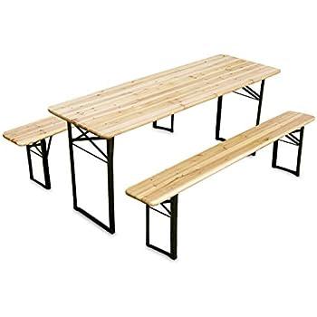 Table Bois MobEventPro jardin de Mobilier Set en de 810 hQdCtsrx