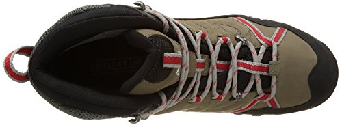 MILLET High Route, Chaussures de Randonnée Hautes Homme Multicolore (Faint Brown/Red)