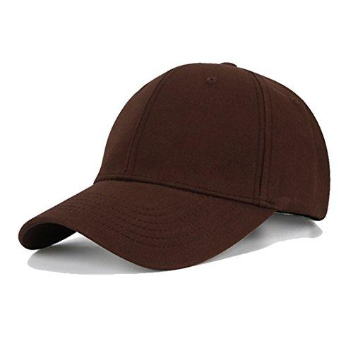 KeepSa Casquette Baseball Snapback Hip Pop Couleur Unie Ajustable 6  Panneaux Taille Unique Golf Hat Motorcycle 507e35e27c4