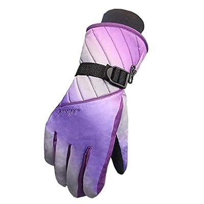 Frauen Snowboard Handschuhe Warm Wasserdichte Ski Handschuhe Radfahren Handschuhe, A
