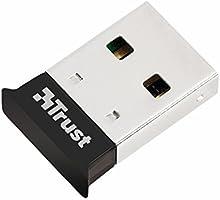 Trust Dizüstü Ve Masaüstü Bilgisayarlar Için Bluetooth 4.0 Adaptör Siyah, Siyah