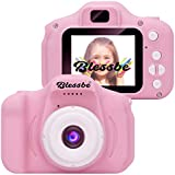 BLESSBE Kids Digital Camera, Web Camera for Computer Child Video Recorder Camera Full HD 1080P Handy Portable Camera 2.0…
