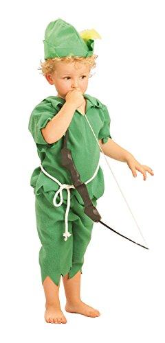 Carnevali Robin Hood costume del bambino 2-4 anni