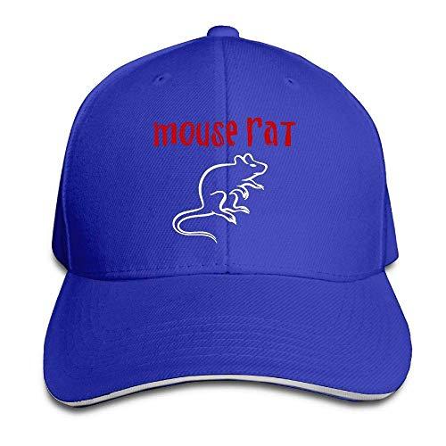 Bikofhd Parks and Recreation Mouse Rat Circle Adjustable Baseball Cap