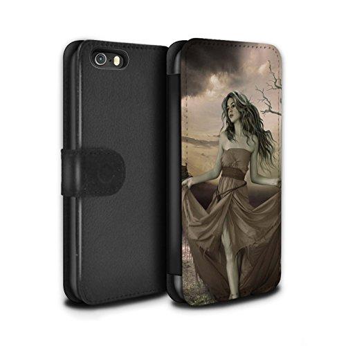 Officiel Elena Dudina Coque/Etui/Housse Cuir PU Case/Cover pour Apple iPhone 5/5S / Notre Dame Design / Caractère Conte Fées Collection Notre Dame