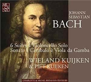 Bach - Six suites pour violoncelle BWV 1007-1012 / Sonates pour viole de gambe et clavecin BWV 1027-1029