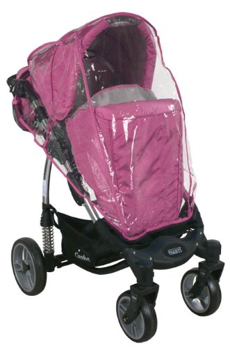 2in1 Travel Set ARTI Comfort B503 2w1 Pink/Gray Babypram and Pushchair/ Baby Stroller   6