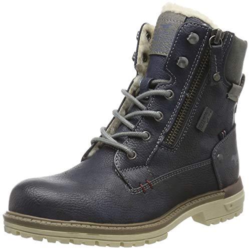 MUSTANG Unisex-Kinder 5051-608-820 Klassische Stiefel, Blau (Navy 820), 39 EU