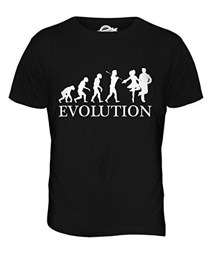 CandyMix Irish Dance Evolution Des Menschen Herren T Shirt Schwarz