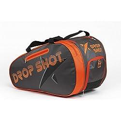 Drop Shot Neo Paletero de Pádel, Unisex Adulto, Naranja, M