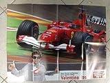Q62 Poster Valentino Rossi Test Ferrari Mis. 70 x 50 cm.