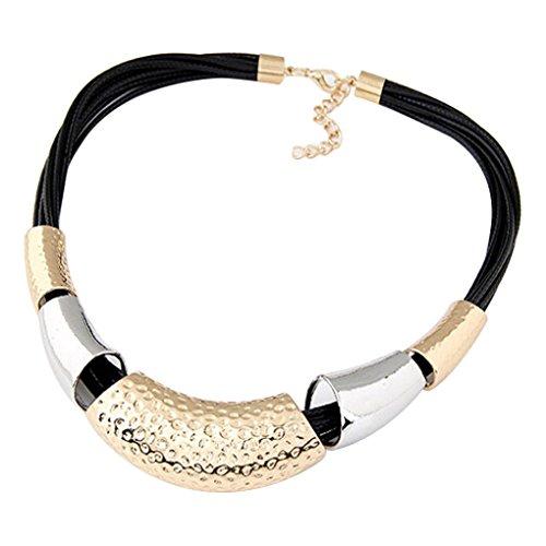 LUFA Donne collana a catena girocolli collane in metallo Girocollo pendente clavicola