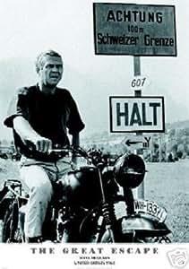 Steve McQueen - Great escape Film Poster Größe (86.5 x 61 cm) Poster