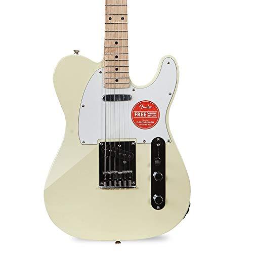 Miiliedy Affinity Series E-Gitarre Anfänger Üben Spielen Professionelle E-Gitarre Geeignet für Rock Roll Blues Heavy Metal Musikstile E-Gitarre ( Color : White )
