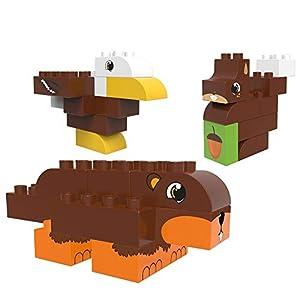 BIOBUDDI - Bloques de construcción eco-friendlies animales del bosque (27 piezas) - BB-BB-0105