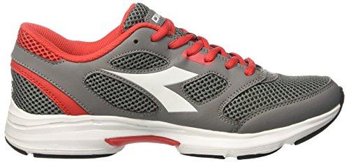 Diadora Shape 7, Chaussures de Course Mixte Adulte Gris (Grigio Ghiaccio/bianco)