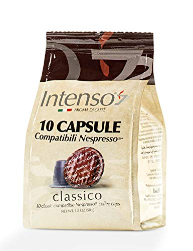 Intenso Classico Espresso, 10 Kapseln im Beutel (Nespresso® kompatibel)