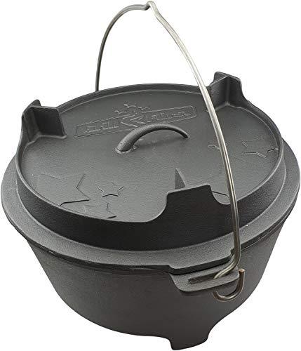 Grillfürst Dutch Oven BBQ Edition DO12 - Feuertopf