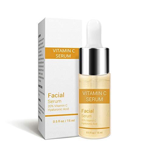 Mimiga Gesicht Gold Anti-Aging Vitamin C Serum für entfernen Falten Moisturizie Whitening Skin Care Essence feuchtigkeitsspendende Hautpflege Hyaluronsäure