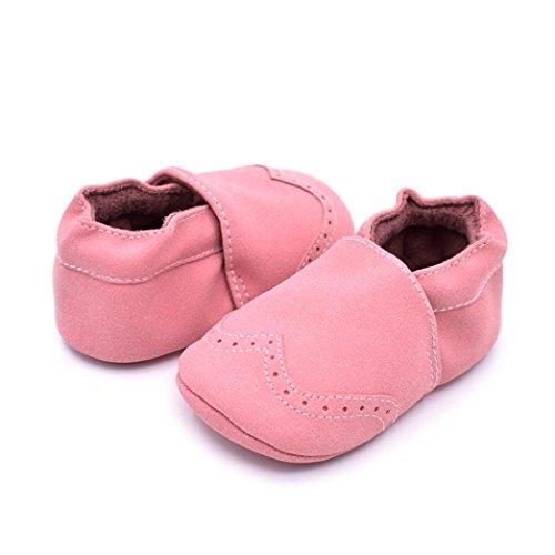 Chaussures de bébé,Transer ® Bébé nourrisson garder chaussures à Prewalker semelle souple bottes chaudes Rose