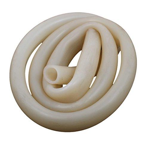 sourcingmap® 16mm x 20mm 1M Länge Hitzebeständig Beige Silikon Schlauch Wasser Luftpumpe Rohr