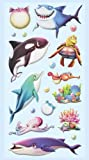 Softy-Sticker Meerestiere,Hai,Wal,Delfin...