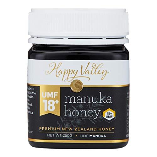 Happy Valley UMF 18+ (MGO 696+), Manuka roher Honig, 250g - Health Nz Manukahonig