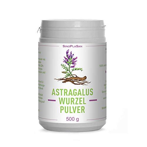 Asthma Tabletten (Astragalus-Wurzel-Pulver (Astragalus membranaceus) | 500g | 100% naturrein ohne Zusätze | höchste Qualität | VEGAN | Meshfaktor 80 | Tragant)