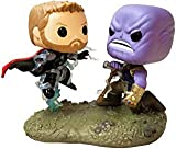Funko 35799 Pop! Bobble - Paquete de 2 Piezas: Marvel: Movie Moments: Thor vs Thanos, Multi