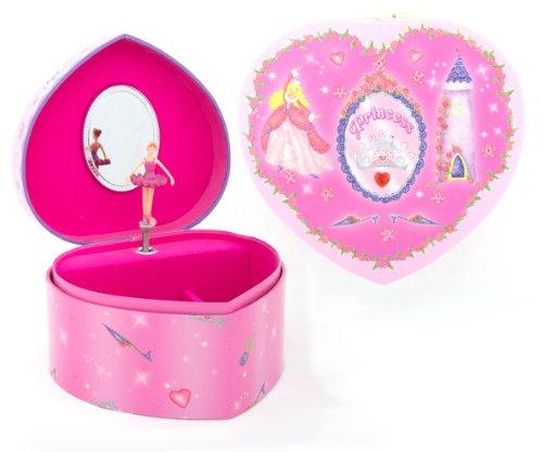 Caja-Musical-de-Princesa-en-color-rosa-con-forma-de-corazn-para-nias-Lucy-Locket