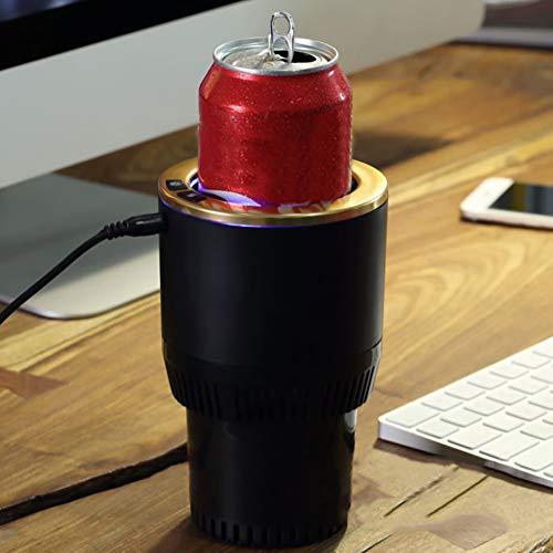 Homclo 12V Auto Getränkehalter Kühler und Wärmer car Cup Holder Halter weinkühler Getränkekühler für Bier, Cola, Kaffee, Milch - Getränke Cup-kühler