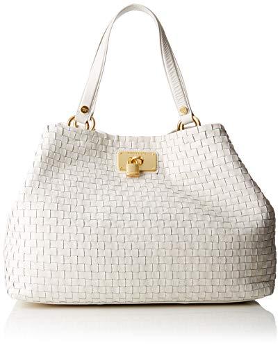 Guess - Lola, Shoppers y bolsos de hombro Mujer, Beige (Ivory/Ivo), 38.5x30x20.5 cm (W x H L)