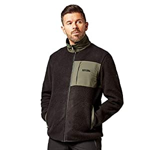 Regatta Herren Cayo High Pile Borg Full-Zip Ripstop Winter Fashion Fleece