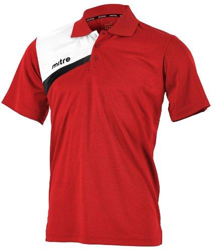 mitre-polo-de-football-polarize-pour-junior-10-ans-rouge-rouge-blanc