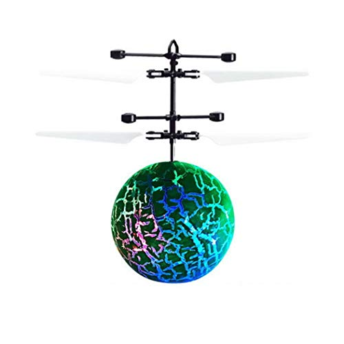 omdoxs Kids Magic Electric Flying Ball LED Intermitente luz Aviones helicóptero inducción Juguete