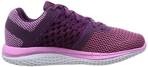 Reebok Zprint Run Chaussures de Sport Femme Rosa / Morado / Blanco (Icono Pink/Celestial Orchid/White)