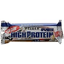 Weider 40% Protein Low Carb Barre Peanut Caramel 20 x 100 gm