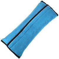 Monbedos Arnés para Cinturón de Seguridad de Coche para Niños, Azul, 30*12*9cm