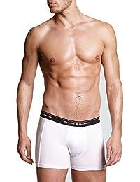 Punto Blanco - BOXERS Homme BASIX PUNTO BLANCO Haute sous-vêtements COTON - BLANCO, 60/2X