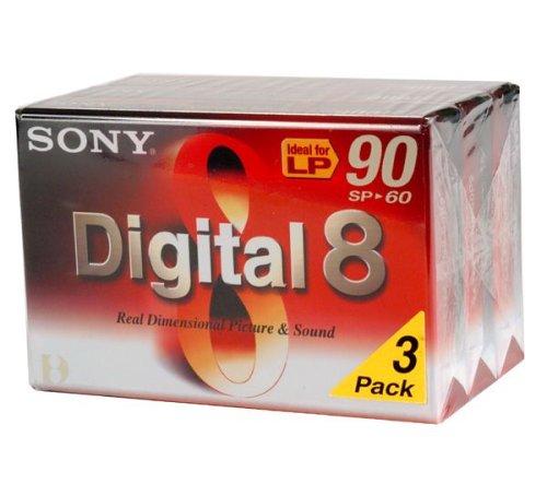 Sony Digital 8 Band (60min, 3-er pack)